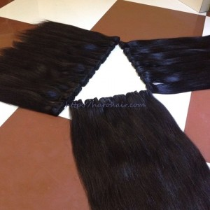 Double weft hair 2 Vietnam hair