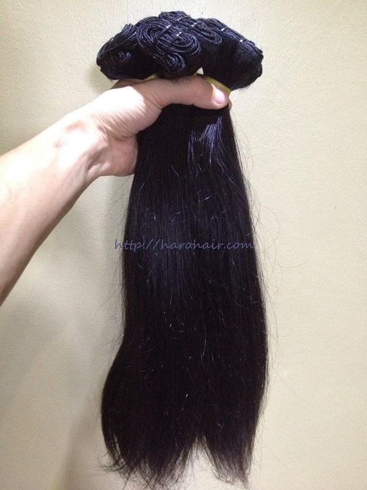Double weft hair 3