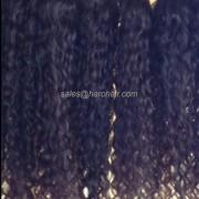 Machine weft curly hair X1.5 - Hair Vietnam
