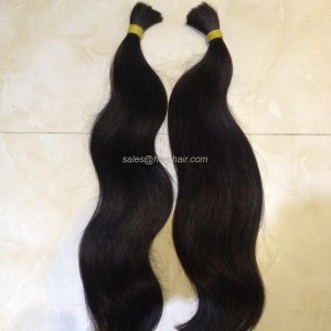 Natural wavy hair N1 - Bulk hair Vietnam
