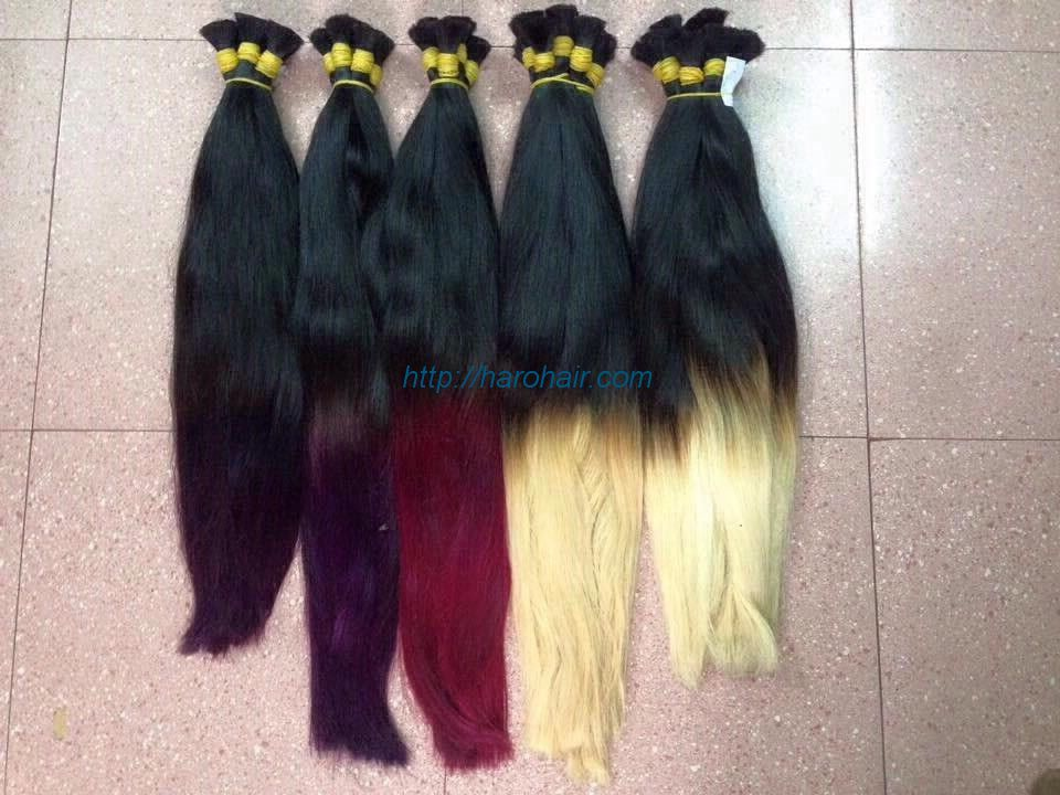 Ombre color hair - Vietnam hair