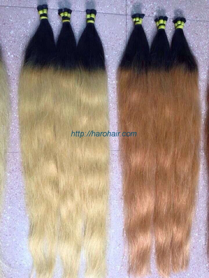 Hair beauty - Ombre color hair