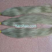 100 Virgin Human Grey Hair