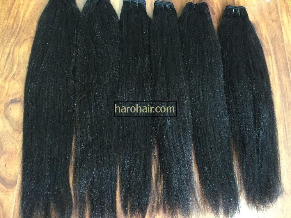 Yaki 100% remy human hair