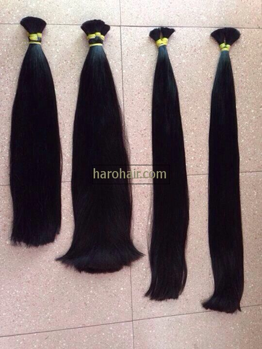 Double drawn hair A0