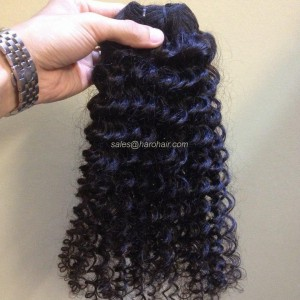 Machine weft curly hair (X1.1) - Real hair Vietnam