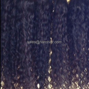 Machine weft curly hair X1.5 - Hair Vietnam
