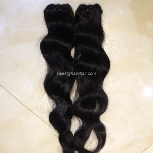 Machine weft curly hair X1.4 - Vietnam hair supply