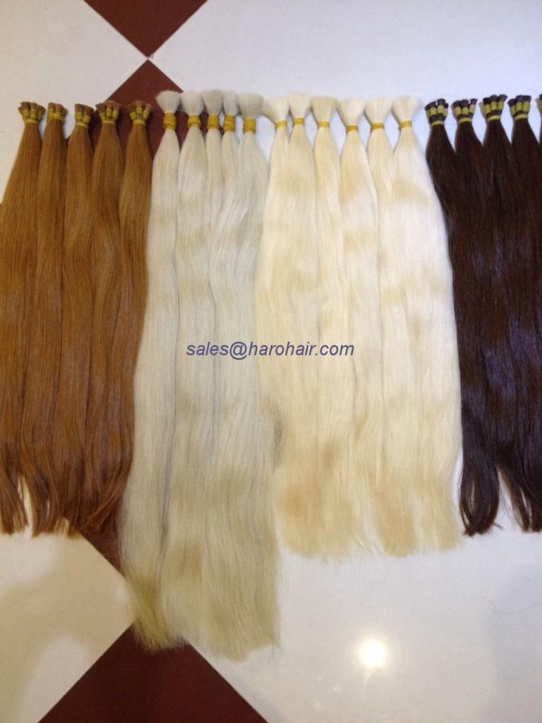 Color hair M3 - Human hair