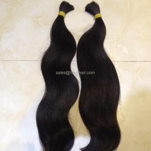 Natural wavy hair N1 - Bulk hair Vietnam