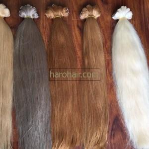 Color weaving hair extension hair